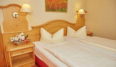 Doppelzimmer im Kurparkhotel in Ilsenburg