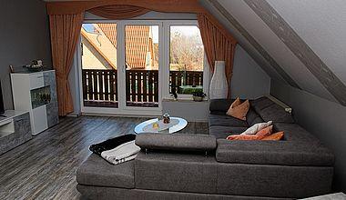 Ferienwohnung Dreher - Wohnzimmer