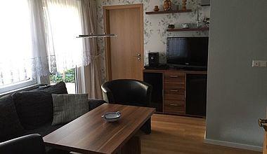 Ferienhaus Schmidt Wohnzimmer