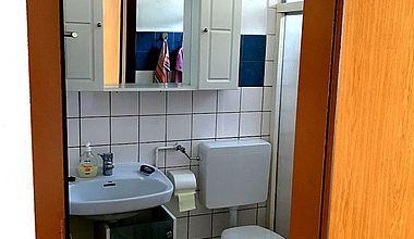 Badezimmer Ferienzimmer Förster Ilsenburg