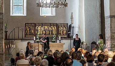 Gottesdienst Kloster Drübeck im Stadtteil Ilsenburg