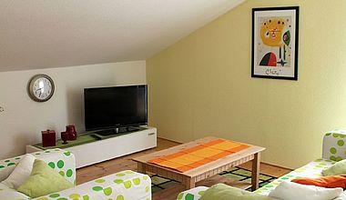 Wohnzimmer Ferienwohnung Peters Ilsenburg