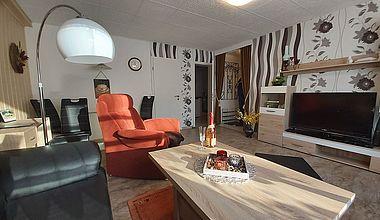 Ferienwohnung Petra Wohnzimmer