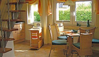 Küche Ferienhaus Diedrich in Ilsenburg