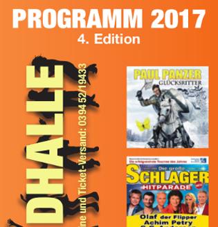 Harzlandhalle Programm