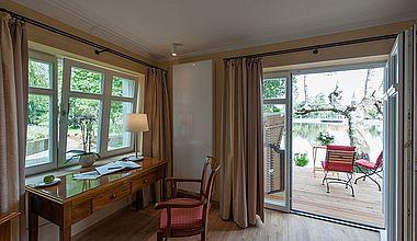 Landhaus Suite mit Terrasse