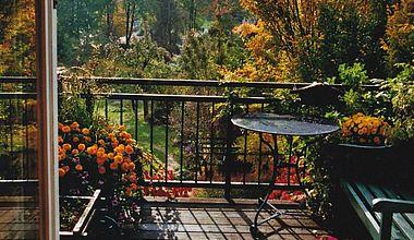 Balkon Ferienwohnung Rudolf