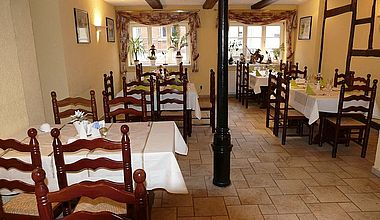 Restaurant im Altstadthotel in Ilsenburg