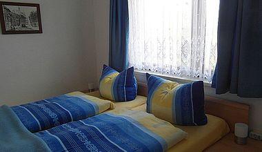 Schlafzimmer Ferienwohnung Teuber Ilsenburg