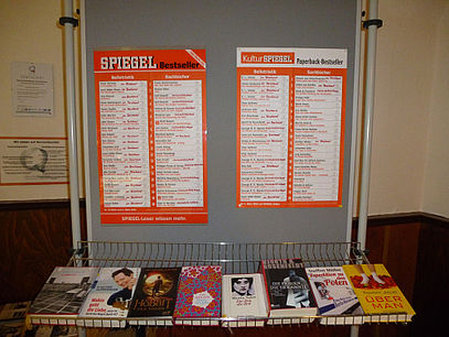 Stadtbibliothek Ilsenburg Spiegel-Bestseller
