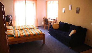 Schlafzimmer Ferienwohnung Hoppe Ilsenburg