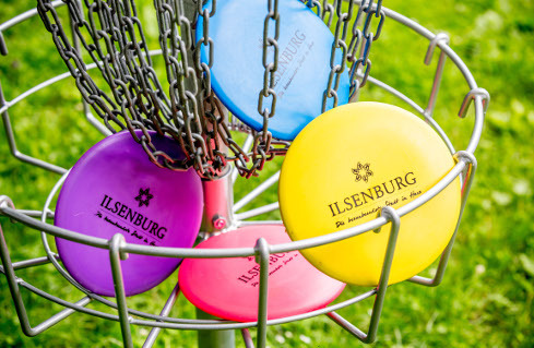 [Translate to Englisch:] Disc-Golf-Anlage im Ilsetal