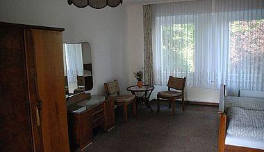 Doppelzimmer Sitzecke im Kloster Ilsenburg