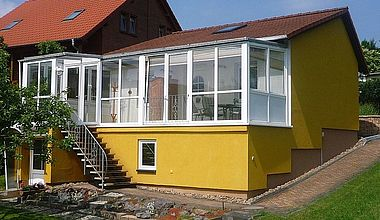Ferienhaus Festerling Außenansicht in Ilsenburg