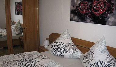 Schlafzimmer Ferienwohnung Martin Ilsenburg
