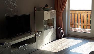 Ferienwohnung Dreher Wohnzimmer