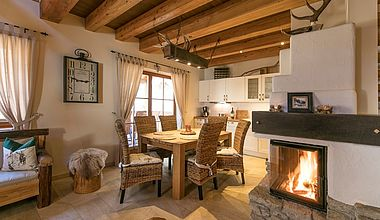 Chalets Ess- und Wohnzimmer