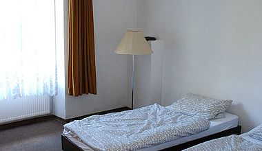 Zweibettzimmer im Kloster Ilsenburg