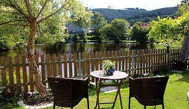 Haus am See Ferienwohnung Klinger Garten Ilsenburg