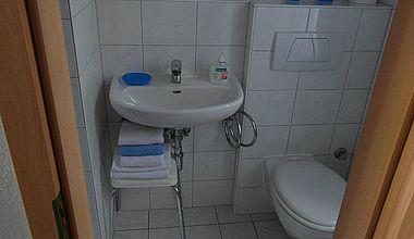 Ferienwohnung Badezimmer Teuber Ilsenburg