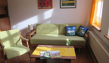 Ferienwohnung Bardy Wohnzimmer