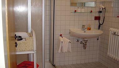 Badezimmer Ferienzimmer Gresens Ilsenburg