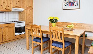 Küche Ferienhäuser am Brocken in Ilsenburg