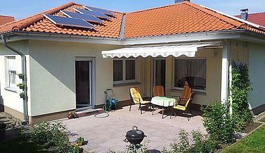 Ferienhaus Ahorn Außenanischt Darlingerode Ilsenburg