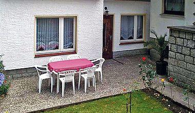 Ferienhaus Claus Außenansicht in Ilsenburg