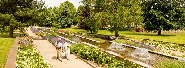 Parks und Gärten