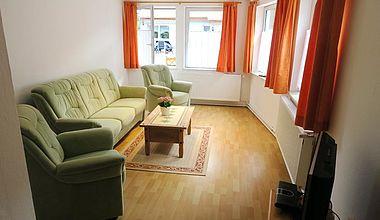 Wohnzimmer FEWO Schirbel