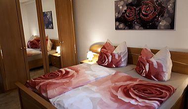 Ferienwohnung Petra Schlafzimmer