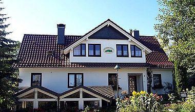 Außenansicht Ferienhaus Bruns Ilsenburg Drübeck