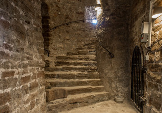 [Translate to Englisch:] Turmtreppe Kloster Ilsenburg