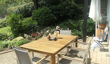 Ferienwohnung Terrasse