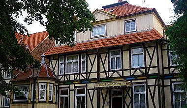 Pension Stadt Hamburg in Ilsenburg
