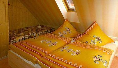 Schlafzimmer Ferienwohnung Enzenberg Ilsenburg