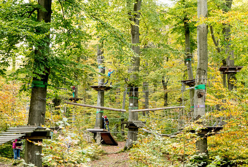 [Translate to Englisch:] Kletterpark Ilsenburg