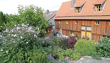 Rückansicht Altes Forsthaus