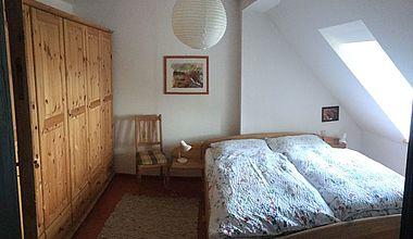Schlafzimmer Ferienwohnung Rudolf