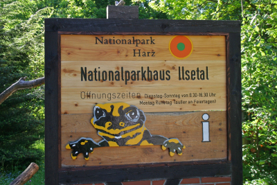 Nationalparkhaus Ilsetal