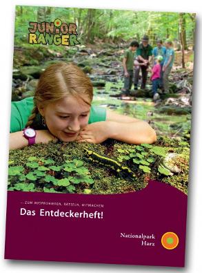 [Translate to Englisch:] Entdeckerheft Nationalpark Harz