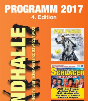 Harzlandhallenflyer Deckblatt
