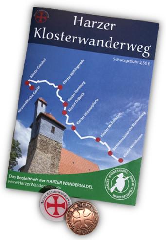 """Harzer Klosterwanderweg """"Pilgerpass"""""""