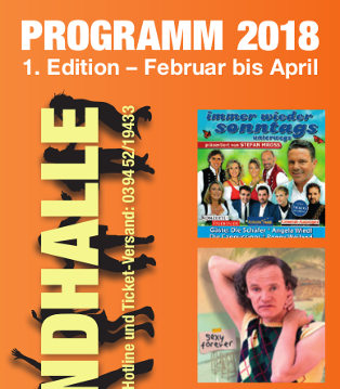Harzlandhalle Veranstaltungen 2018